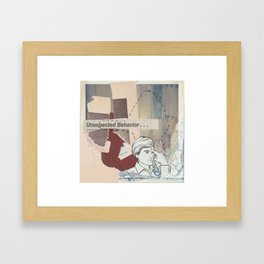 what do they know that u don't Framed Art Print