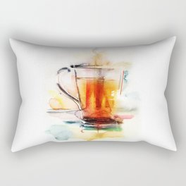 Black tea Rectangular Pillow