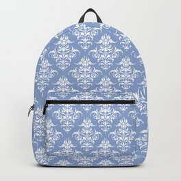 Damask Pattern | Serenity | Pantone Color of the Year 2016 Backpack