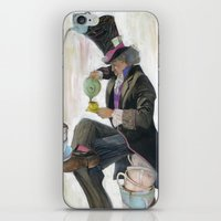 mad hatter iPhone & iPod Skins featuring Mad Hatter by Oliver Dominguez