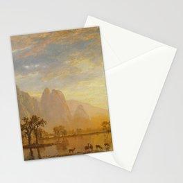 Albert Bierstadt - Valley of the Yosemite (1864) Stationery Cards