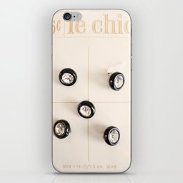 le chic for 25 cents iPhone Skin