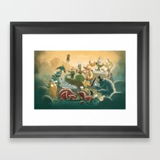 Goblins Drool, Fairies Rule! - Team Goblin Framed Art Print