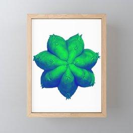San Pedro Psychedelic Framed Mini Art Print
