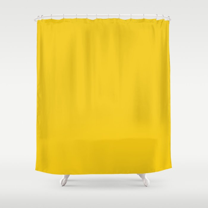 Jonquil - solid color Shower Curtain