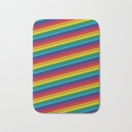 HD Rainbow Bath Mat