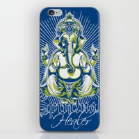 spiritual iPhone & iPod Skins featuring Spiritual healer  by Tshirt-Factory