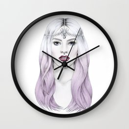 The White Goddess Wall Clock
