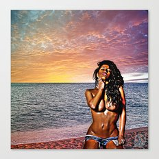 Wish You were here... Version 2 Canvas Print