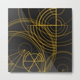 The inner works Metal Print