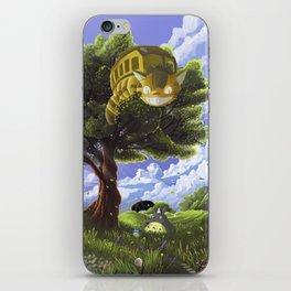 Totoro and Catbus iPhone Skin