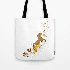 Magic paintbrush Tote Bag