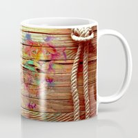 lions Mugs featuring Colors & Lions by Bianca Sale