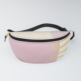 Lilac and Lavender 118 Fanny Pack
