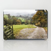 england iPad Cases featuring Hathersage, England  by Michelle Gillatt