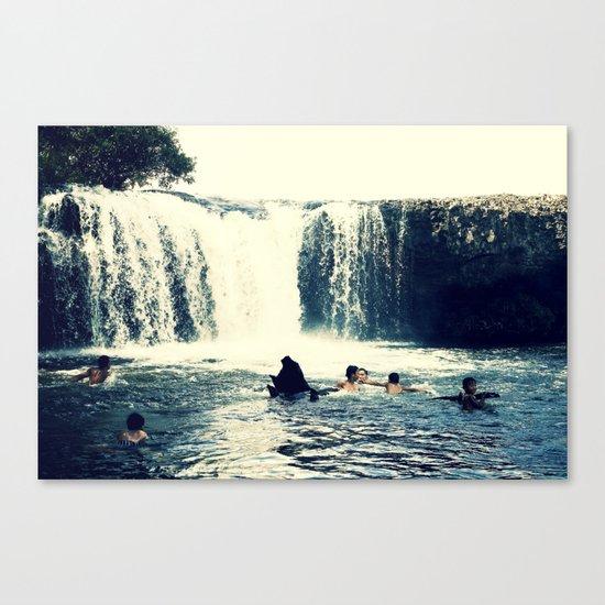 waterfall #3 Canvas Print