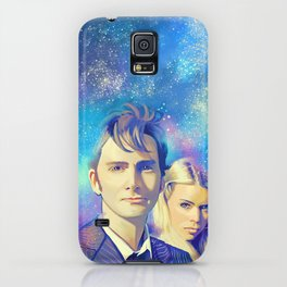 10TH and Rose Tyler - Doctor Who iPhone Case