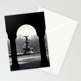 Bethesda fountain, Central Park, NYC Stationery Cards