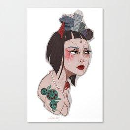 Ulrha _City Series Canvas Print