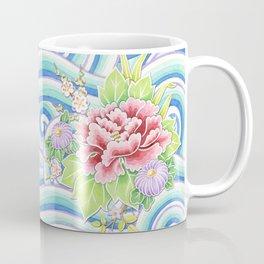 Kimono Bouquet Coffee Mug