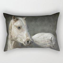 Traveler Portrait No 1 Rectangular Pillow