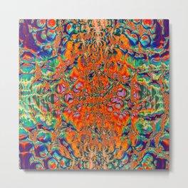 Acid Apparitions Metal Print