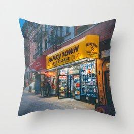 Funkytown Throw Pillow