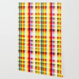 classic multicolored retro pattern Wallpaper