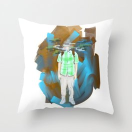 Scattered Thoughts 2 Throw Pillow