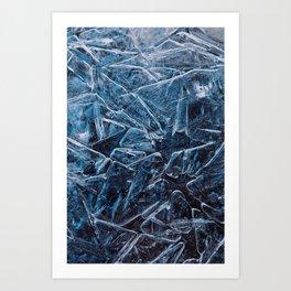 Ice Cells Art Print