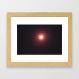 The Diamond Ring Framed Art Print