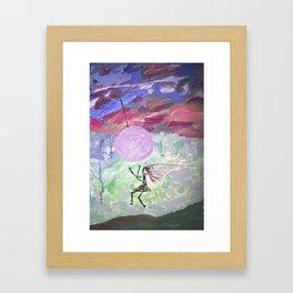 Catch Me Please Framed Art Print