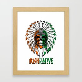 Irish Native Framed Art Print