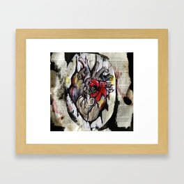El Viaje Framed Art Print
