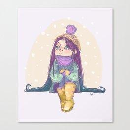 Winter! Canvas Print