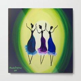 Moonlight Dancers Metal Print