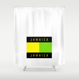 Jamaica Jamaica Shower Curtain