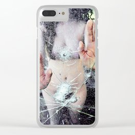 Shoot to Shatter Clear iPhone Case