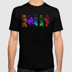 The Spice Girls LARGE Mens Fitted Tee Black