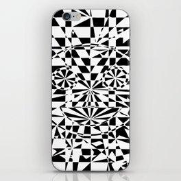 Smiley Damier 2 iPhone Skin