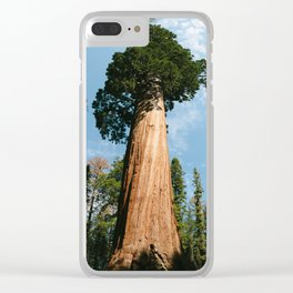 General Sherman Tree Clear iPhone Case