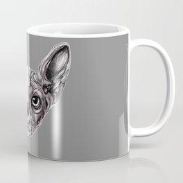 Shynx Half Skull Coffee Mug