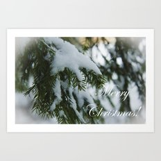 Merry Christmas and Happy New Year! Art Print