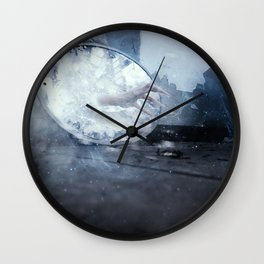in this world im alone Wall Clock