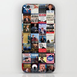Donald Trump Books iPhone Skin