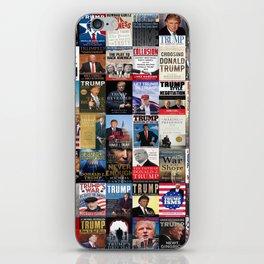 Donald Trump Books iPhone Skin