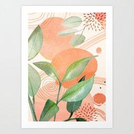 Elegant Shapes 26 Art Print
