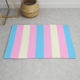 Transgender Pride Flag v2 Rug