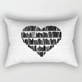 Book Lover II Rectangular Pillow