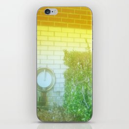 Damaged Disposable Camera Film - Hospital Wall iPhone Skin